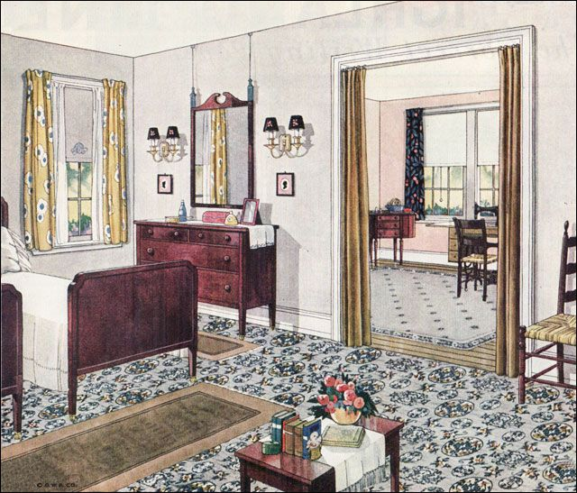 Amazing Collection Of 1920's Interior Design Images Old House