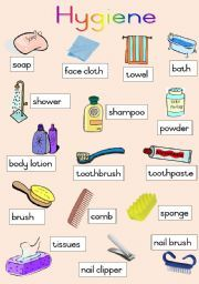 English Worksheet Hygiene Poster Dentist Pinterest