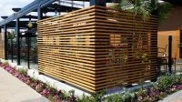 Restaurant patio fencing | Planters, Patio Fences, and ...
