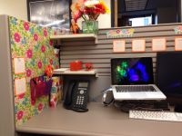 Your cubicle doesn't have to be ugly. Cubicle ideas ...