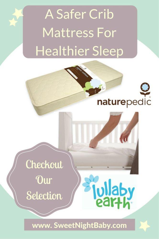 Organic Waterproof Crib Mattress For Safe Dry Sleep