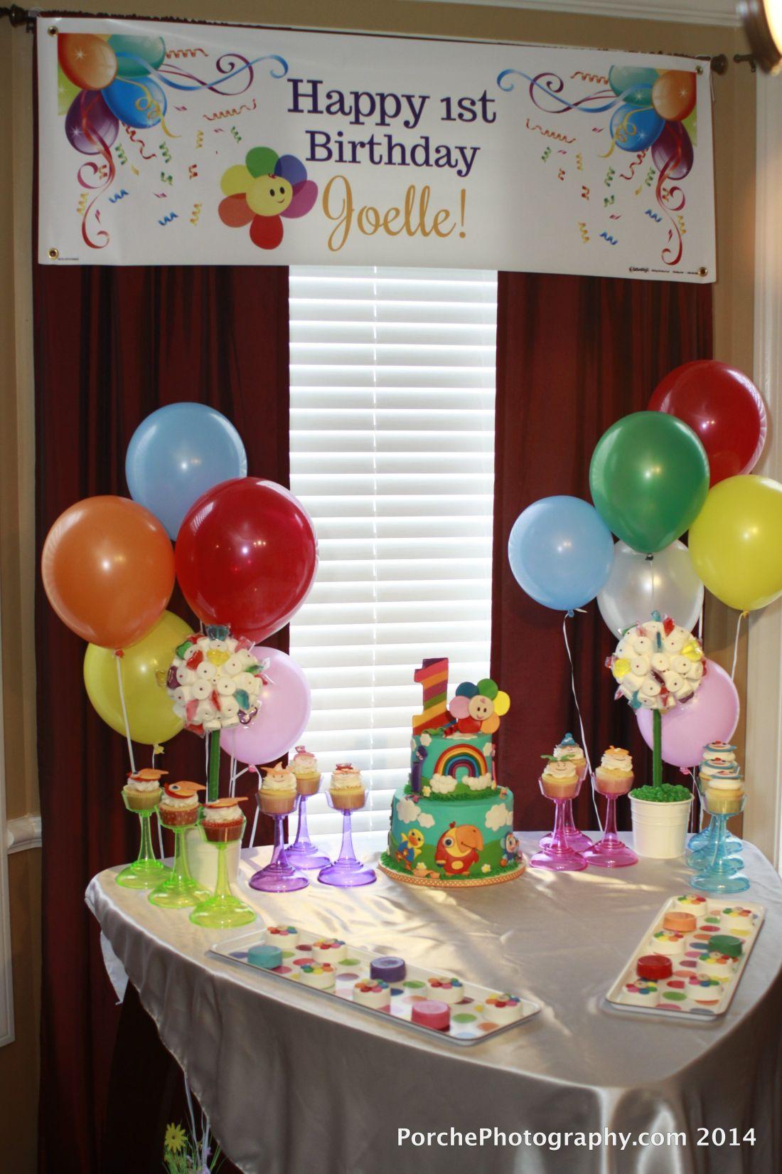 Babyfirst tv 1st birthday party joelle 1st birthday