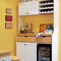 Kitchen Counter Solutions Pull Out Faucet Storage For Tiny Kitchens