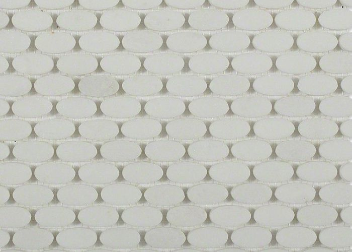 Kinetic ovals white thassos main marble tilesglass also tile potential pinterest