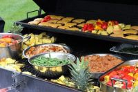 backyard arrangement for graduation party - Google Search ...