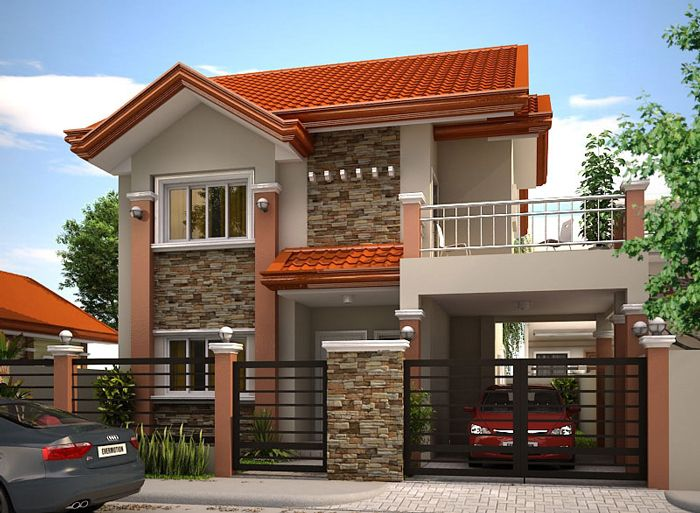 MHD 2012004 Pinoy EPlans Modern House Designs Small House