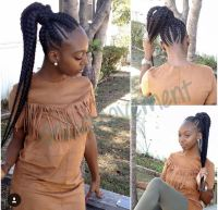 Feed In Braids into a ponytail | OnGOMovement | Pinterest ...