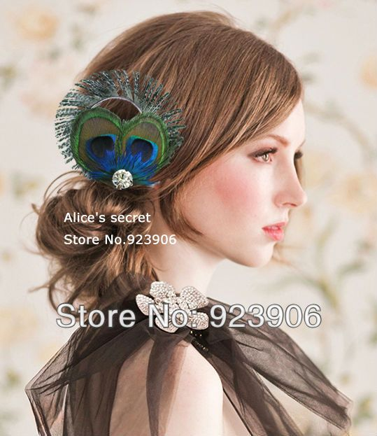 wedding arrangements with feathers google search peacock hairpeacock feathersfeather hair pieceswedding