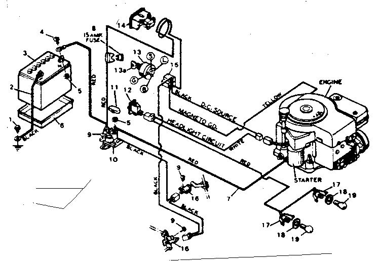 Briggs And Stratton 11 Hp Wiring Diagram : 40 Wiring