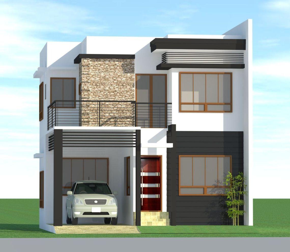 Design Of Duplex House In The Philippines | Modern Design