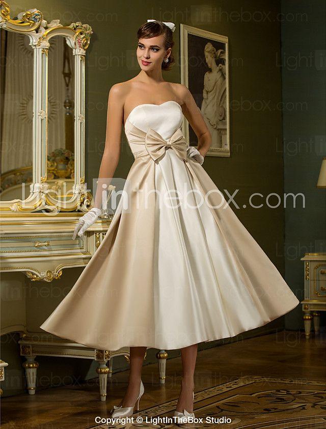 Lanting Bride® A Linie Prinzessin Extraklein Übergrößen