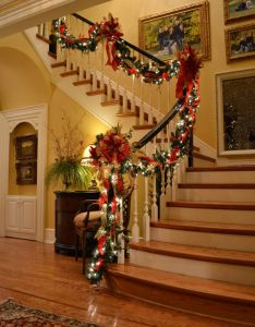 Kristen   creations christmas staircase also decorating ideas that will bring joy to your home  rh in pinterest