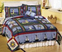lighthouse bedding | Level Two Northeast Bedroom (Marsh ...