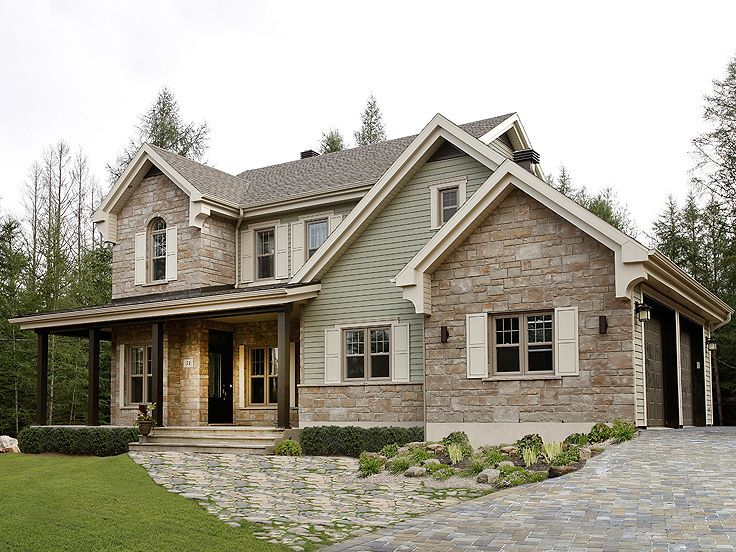 Country Home Exterior Design Ideas