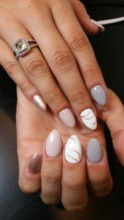 ataylorrey gel polish nude nails