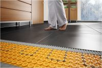 schluter ditra heat floor warming schluter from Heated ...