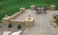 "Anchor 6"" Highland Stone Freestanding Wall 