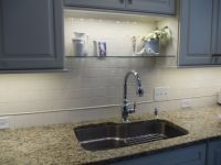 An idea for over sink shelf that won't interfere with new ...