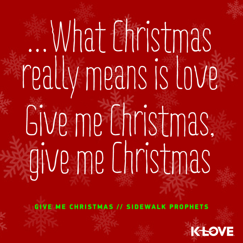 Klove Live Stream Christmas | Homestylesite.co