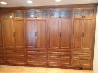 Classy Handmade Oak Built In Wardrobe Closet Unstained ...