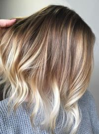 Blonde Balayage with Natural Pretty Hair Color Ideas for ...