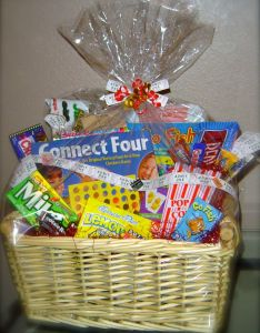 Family game night  basket audjiefied also baskets rh pinterest