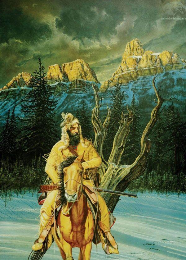 Mountain Man Fur Trade Paintings