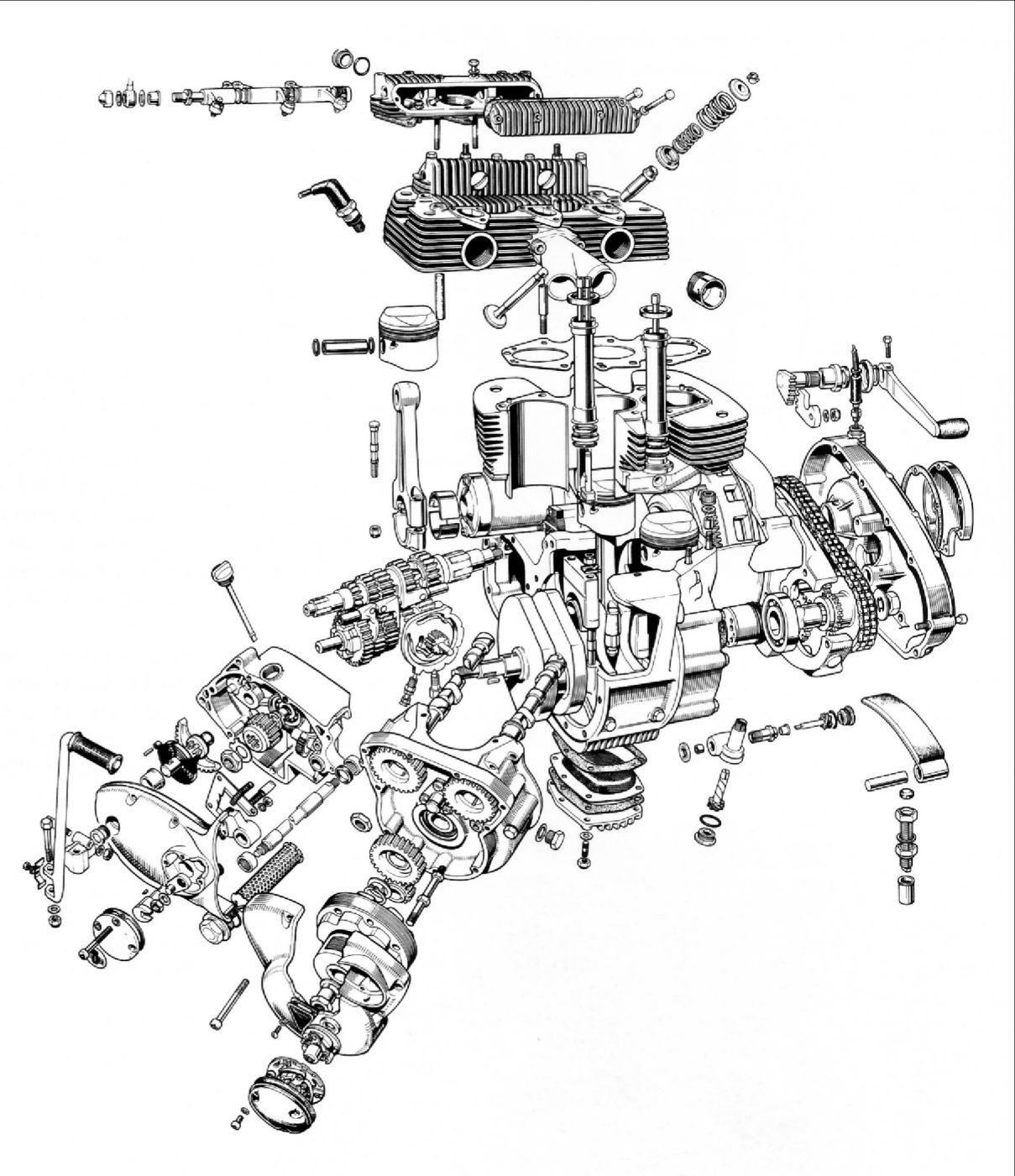 Eclate Moteur T160 Design Phase