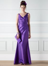 purple-bridesmaid-dress-and-shoes-1-2 | Purple Bridesmaid ...