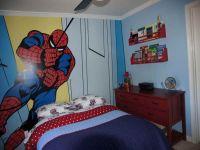 Spiderman Wall Kids Bedroom Paint Ideas | Ashton ...
