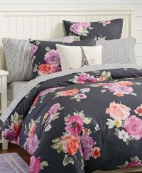Floral bedding from PBteen | [Dorm Room] Trends ...