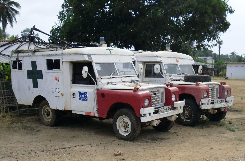 old ambulances