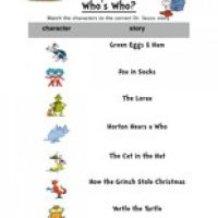 The Lorax Reading Comprehension Worksheet