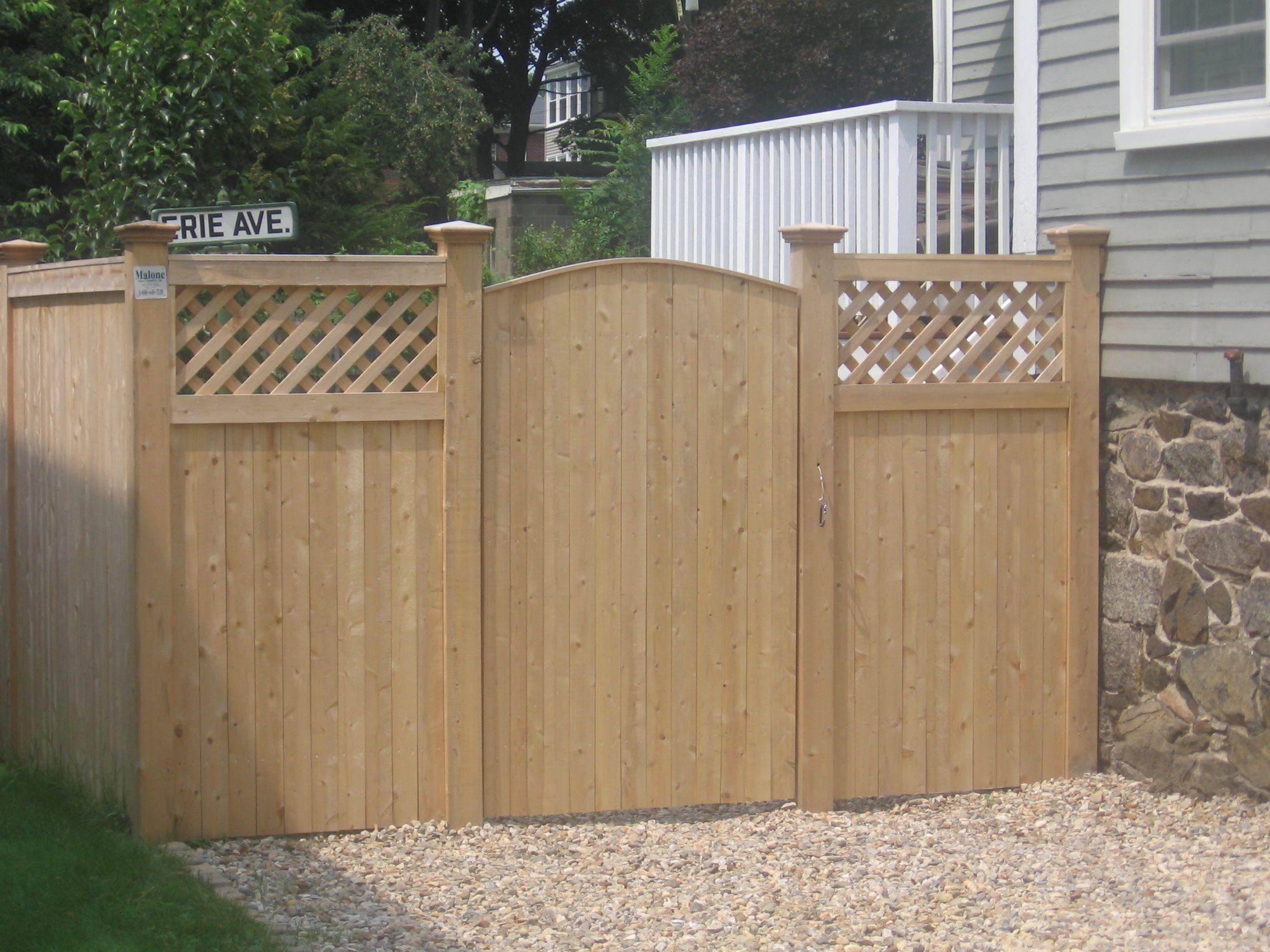 gates for privacy fences