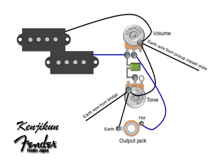 P Bass Wiring Diagram Google Search Guitar Repair Pinterest