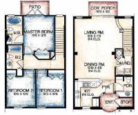 Townhouse Floor Plans | Apartment Complex Ideas ...