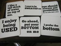 The 25+ best Funny coasters ideas on Pinterest | DIY ...