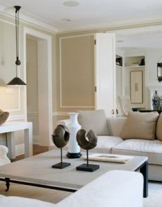 Clean palette and uncomplicated design imbue this family room with style serenety also pin by julie campbell on living pinterest bi fold doors rh