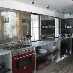 Under Cabinet Shelving Kitchen Paula Deen Antiqued Mirror Backsplash Open Counter Shelves