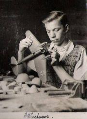 "1920s - ""alec woodason shown working"
