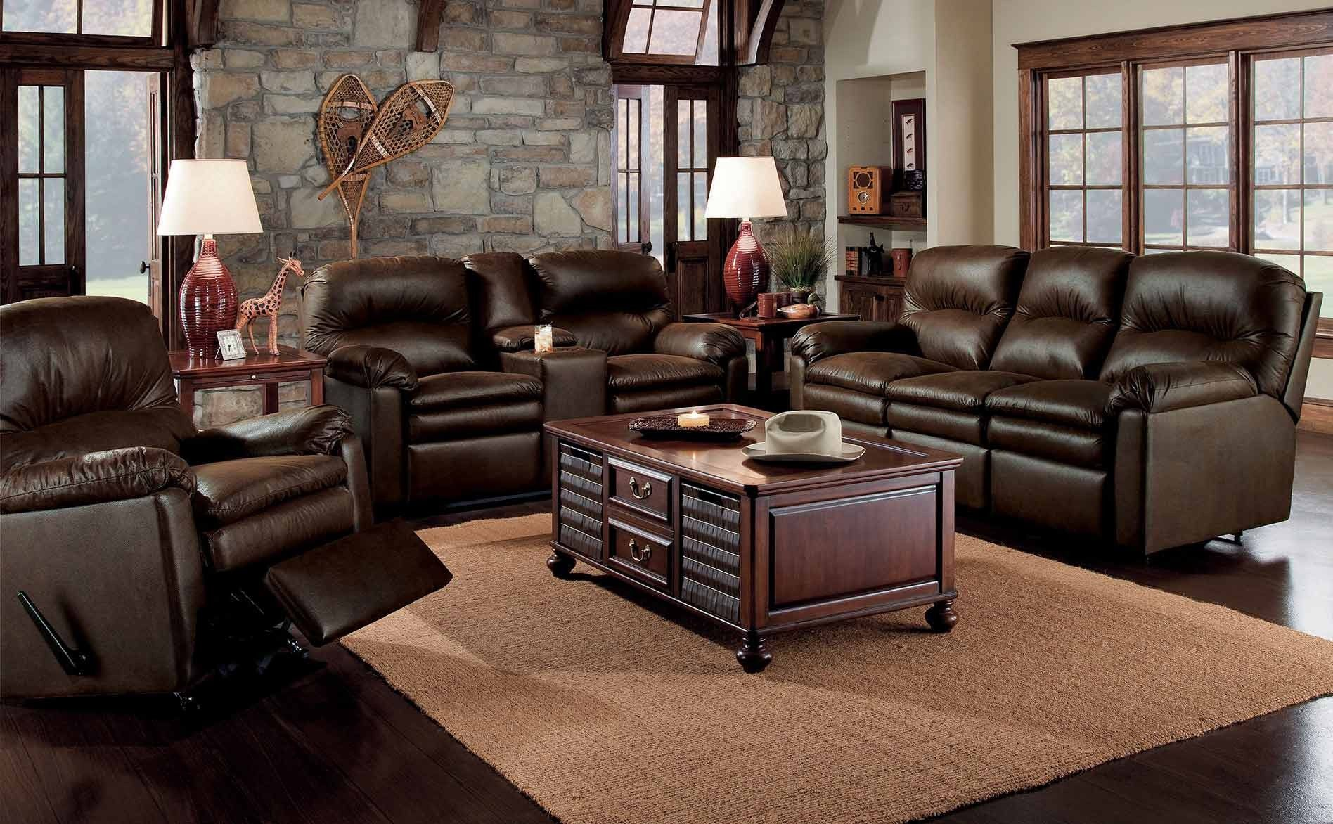 darrin leather sofa reviews 2 black lane recliner living room overstuffed couches