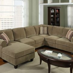 Living Room Sectional Ideas With White Walls And Brown Furniture Livingroom On Pinterest | Window Seat Cushions ...