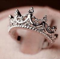 Princess Crown Ring  Royal Essentials | Rings | Pinterest ...