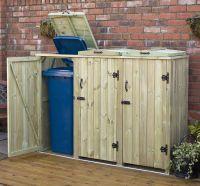 Outdoor Recycling Bin Storage DIY | Wheelie Bin Storage ...