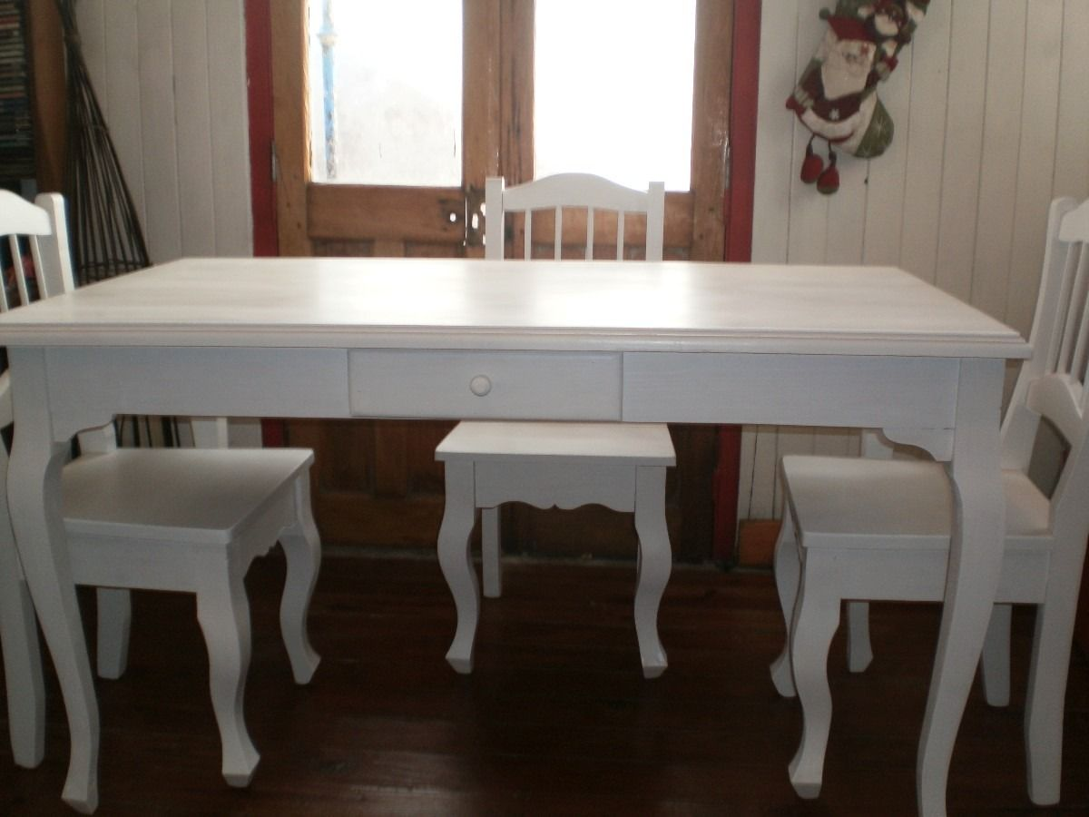 mesa de comedor madera pintada  Buscar con Google