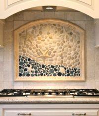 Coastal Kitchen Backsplash Ideas with Tiles