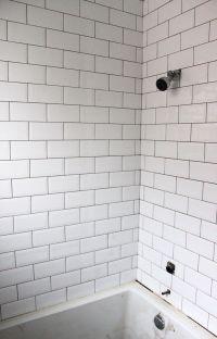 showertile3 | lakehouse | Pinterest | Subway tile ...