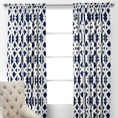 Curtains I Would Love To Tie In This Color Blue With The Pale