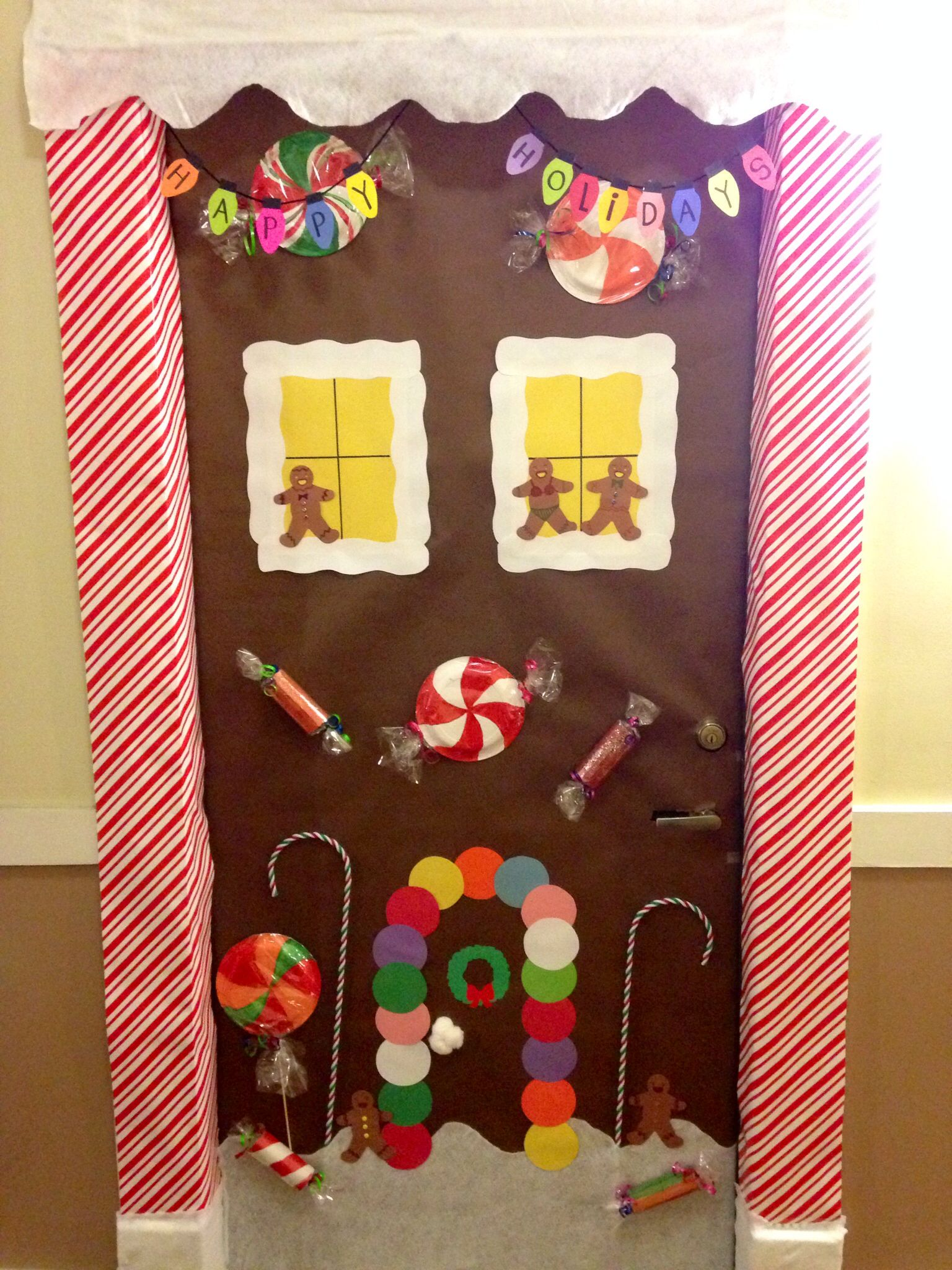 Gingerbread House Door Decorating Contest Google Search