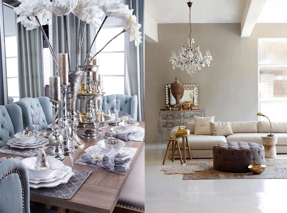 Neutral-metallics-Interior-design-trends-2018-home-decor